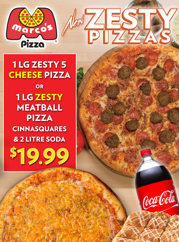 photograph regarding Marco's Pizza Printable Coupons named Marco pizza bargains : Inns durham