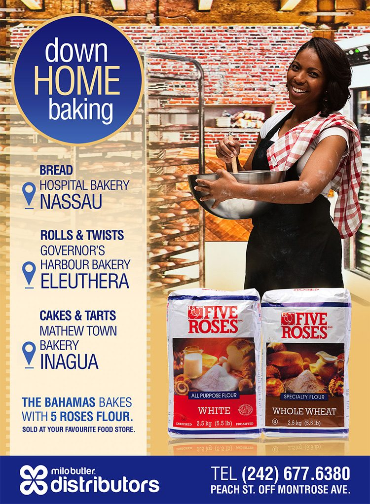 Five Roses Flour Available at Milo Butler Distributors