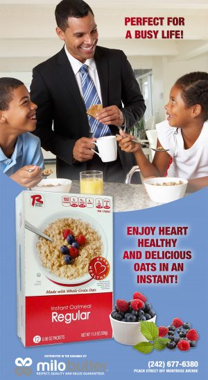 Instant Oatmeal Promotion - Milo Butler Distributors - My Deals Today Bahamas