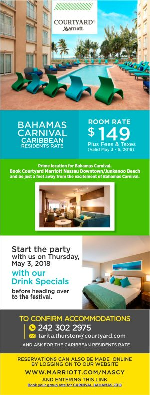 Special Rates for Carnival
