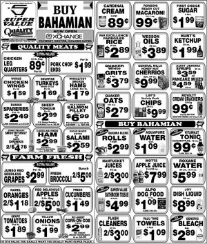 Weekly Specials Super Value on My Deals Today Bahamas