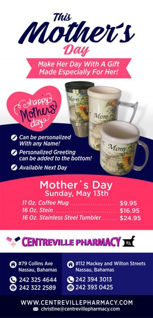 Mother's Day Promotion from Centreville Pharmacy on My Deals Today Bahamas