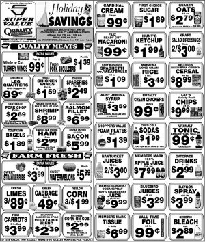 Holiday Savings from Super Value - My Deals Today Bahamas