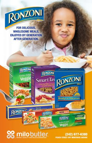 Ronzoni Available at Milo Butler Distributors - My Deals Today Bahamas