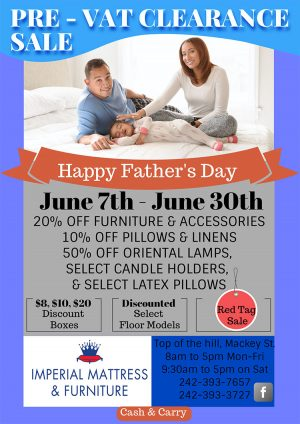 Father's Day Promotion, Imperial Mattress - Furniture and Accessories